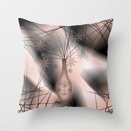 Icelandic Magical Stave - Angurgapi  Throw Pillow