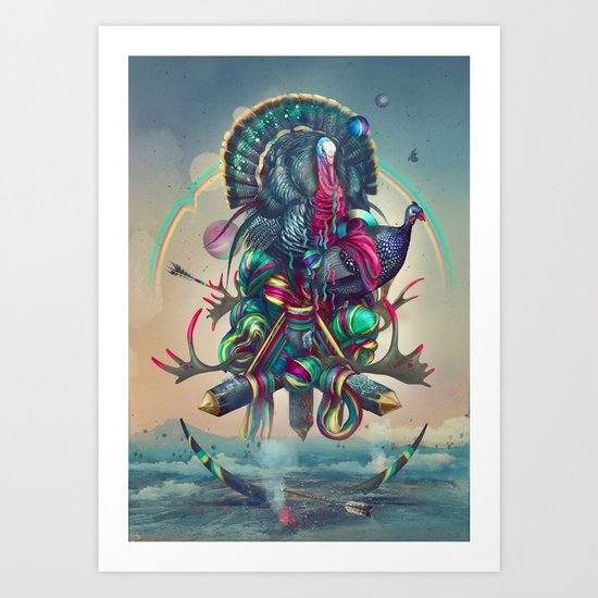 Color setting Art Print