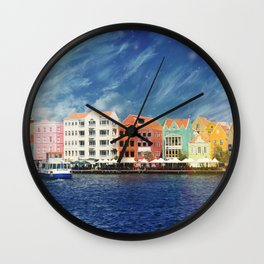 Willemstad, Curaçao Wall Clock