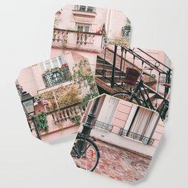 Bike in Paris Pink City Photography  Coaster