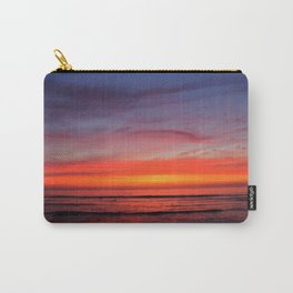 Scripps Pier - Sunset Carry-All Pouch