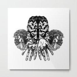 Scar Lxrd Metal Print