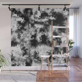 Black and White Tie Dye & Batik Wall Mural