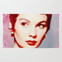 Jean Simmons, Vintage Movie Star Rug