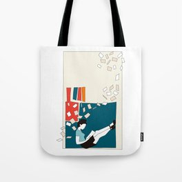 Papers Tote Bag