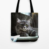 wreck it ralph Tote Bags featuring Ralph by Roxie Torii