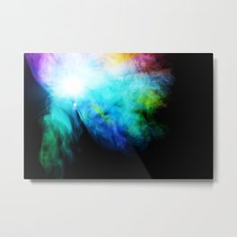 Her Ghost in the Fog Metal Print