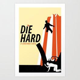 Die Hard - A Christmas Carol Art Print