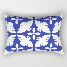 Dove Pattern 2 Rectangular Pillow