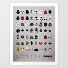 Star Wars: The Rebellion Era Art Print