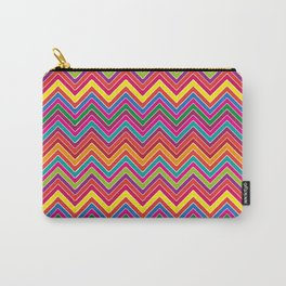 Colourful Chevron Carry-All Pouch