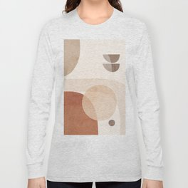 Abstract Minimal Shapes 16 Long Sleeve T-shirt