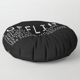 OFFLINE Floor Pillow