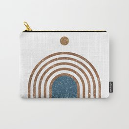 Cypress Grove Blues - Contemporary Minimalist Abstract 1 Carry-All Pouch