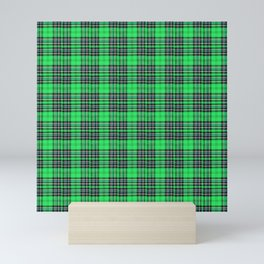 Lunchbox Green Plaid Mini Art Print