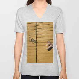 Echoes of the Ongoing Riot Unisex V-Neck
