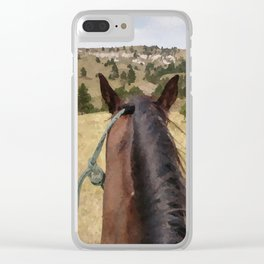 Midnight Run's View Clear iPhone Case