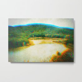 Nature is going to a partyyyee I Metal Print