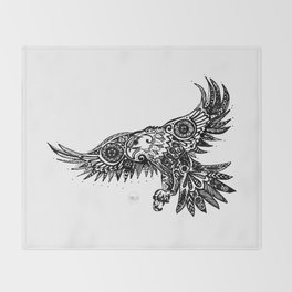 Legal Eagle Throw Blanket