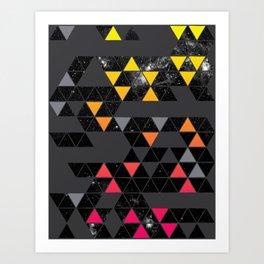 Gradient Space Art Print