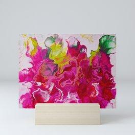 Inviting iris Mini Art Print