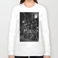 dublin Long Sleeve T-shirts featuring The International Bar, Dublin by Biff Rendar