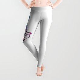 Unicorn Yoga Aum Leggings