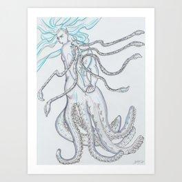 Tentacle Bishonen Art Print