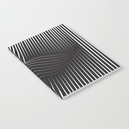 Folded Stripes Notebook
