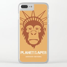 Planet of the Apes - Alternative Movie Poster Clear iPhone Case
