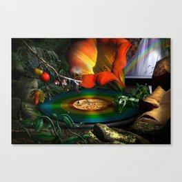 The four seasons Canvas Print