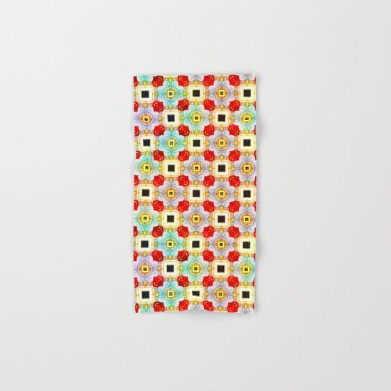 Embellecimiento Pattern Hand & Bath Towel