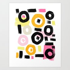 Perception Abstract 002 Art Print