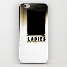 A real Lady  iPhone & iPod Skin