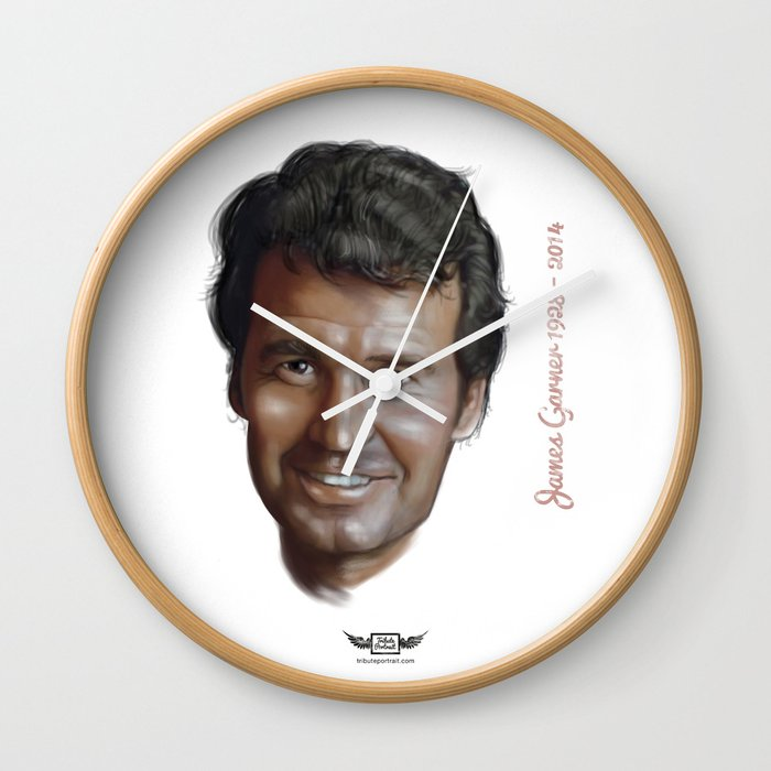 James Garner Wall Clock