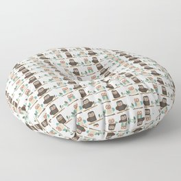 It's A Hoot!  Floor Pillow