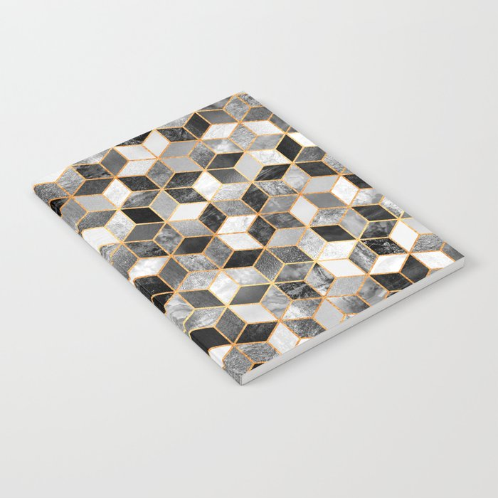 Black & White Cubes Notebook