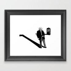 1rst Doctor... Framed Art Print