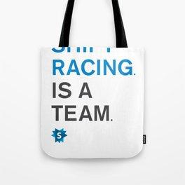 is a team Tote Bag