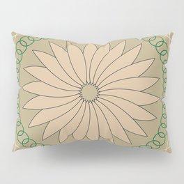 Kiwi inspired Pattern Pillow Sham