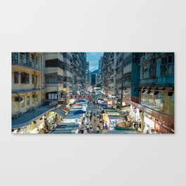 Fa Yeun St., Hong Kong 2 Canvas Print