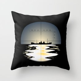 Periscope Throw Pillow