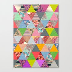 Lost in ▲ Canvas Print