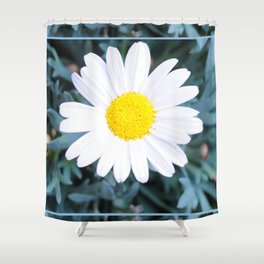 SMILE - Daisy Flower #1 Shower Curtain