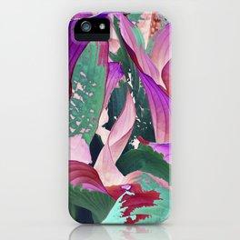 519 - Abstract Garden Design iPhone Case