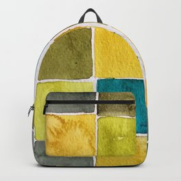 Fashion Color Trend 2021  Watercolor Pattern Backpack