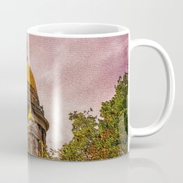 Life Up On The Hill Landscape by Jeanpaul Ferro Coffee Mug