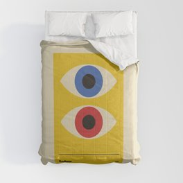Bauhaus 1919 old remastered high resolution poster Comforters