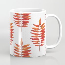 Staghorn sumac leaf | Feuille de sumac vinaigrier  Coffee Mug