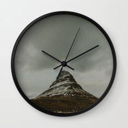 Iceland Kirkjufell Mountain Wall Clock